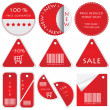 Vector set of tags - 