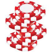 Poker chip — Vecteur