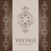Vintage cover — Stock Vector