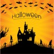 Special halloween background - 图库矢量图片
