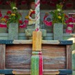 Japanese temple detail — Stock Photo