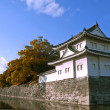 Japanese castle river - Stock Photo