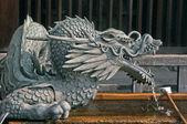 日本のお寺で日本泉竜 — ストック写真