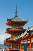 Japanese temples on mountain — Stock Photo