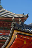 Details on japanese temple — Stock Photo