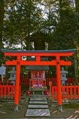 Japanese tori gate — Stock Photo
