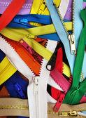 Many zippers — Stock Photo