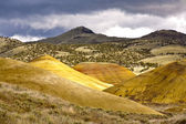 Grand vista of Painted Hills. — Stock Photo