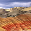 Vibrant colors of Painted Hills. - Stock Photo