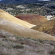 At the painted Hills. — Stock Photo
