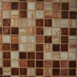 Brown Kitchen tile - Stock Photo