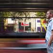 Waiting for a tram — Stock Photo #6158776
