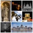 Budapest Montage - Stock Photo