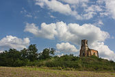 Ruined and abandoned Hungarian church — Stock Photo