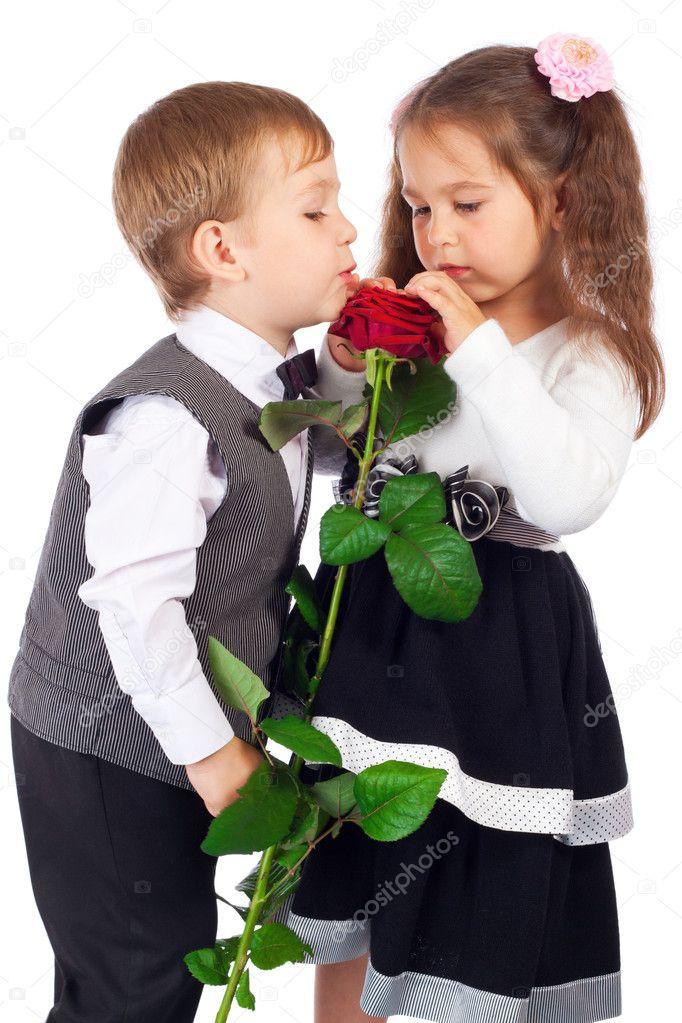 Цветы для мальчика фото