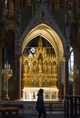 Votive Church Altar — Foto Stock