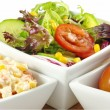 frische Salate — Stockfoto