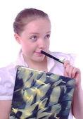 Studentka — Stock fotografie