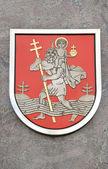 Stolica litwy wilno symbol miasta — Zdjęcie stockowe