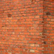 Royalty-Free Stock Photo: Red bricks old wall background