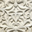 Stock Photo: Retro and grunge gypsum tracery