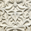 Retro and grunge gypsum tracery - Stock Photo