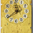 Stock Photo: Grunge vintage clock-face