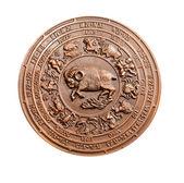 Wzór ulgę znaków zodiaku — Zdjęcie stockowe