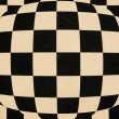Stock Photo: Chessboard transformation background