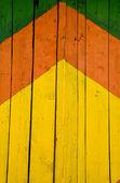 Peint l'arrière-plan de portes vintage — Photo