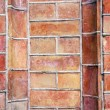 Red bricks wall background - Stock Photo