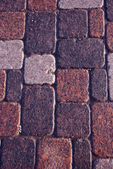 Fundo de rua calçada de granito — Foto Stock