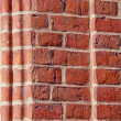 Red bricks historical background — Stock Photo