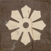 Vecchio sfondo di piastrelle pavimento grunge — Foto Stock