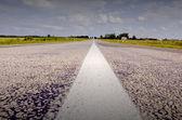 Venkov cesta v létě — Stock fotografie