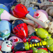 Wooden toys in the fair — Stock Photo #6367310