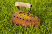 Vintage and rusted iron — Stock Photo