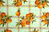 Vintage oilcloth background — Photo