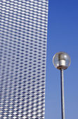 Street lamp and architecture detail — Stock Photo