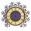 Grunge and ornamental  clock-face — Stock Photo