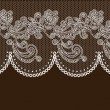 Stock Vector: Vector lace elements