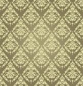 Wallpaper Golden Baroque — Stock Vector