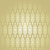 Wallpaper Golden Baroque — Stock Vector
