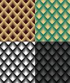 Kolekce bezešvé tapety — Stock vektor