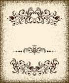 Set of vintage design elements — Stock Vector
