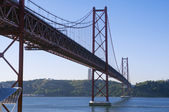 Bridge April 25 Lisbon — Stock Photo
