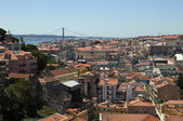 Panoramisch uitzicht over lissabon — Stockfoto