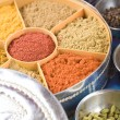 Indian masala spices - Foto Stock