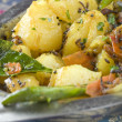 Indian dish Aloo Madras — Stock Photo