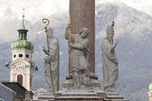 Austria Statue, Innsbruck Tirol — Stock Photo